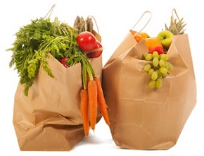 raw food shopping